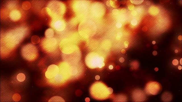 vídeos y material grabado en eventos de stock de abstract background of yellow and red defocused lights - elemento de diseño