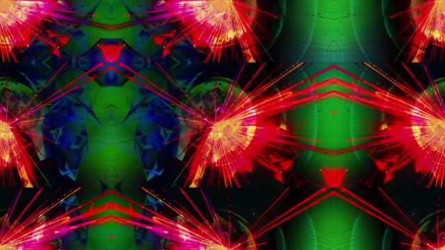 vidéos et rushes de abstrait - effets de fond vraiment original et innovant - psychédélique