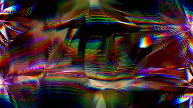 vidéos et rushes de abstrait. en toute transparence bouclables. 4k - diamant