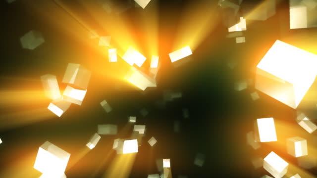 抽象的な背景のシリーズ 02 - 沢山の物点の映像素材/bロール