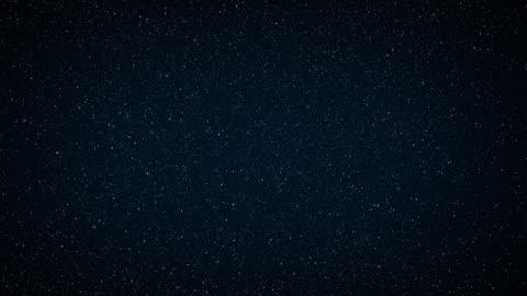 vídeos y material grabado en eventos de stock de resumen de antecedentes. el hermoso cielo estrellado es azul. las estrellas brillan en la oscuridad completa. - campo de estrellas