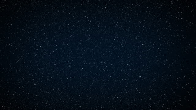 abstract background. the beautiful starry sky is blue. the stars glow in complete darkness. - star field stock videos & royalty-free footage