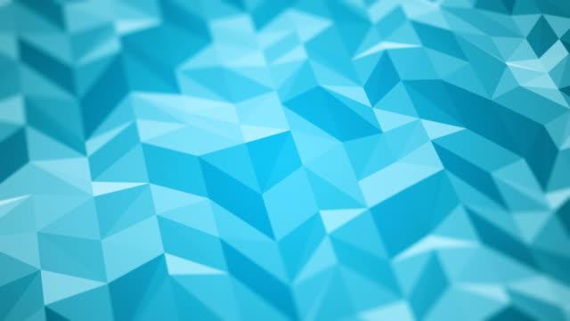 vídeos y material grabado en eventos de stock de fondo abstracto (en bucle) - azul turquesa