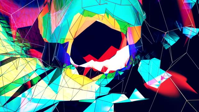vídeos y material grabado en eventos de stock de fondo abstracto - surrealista