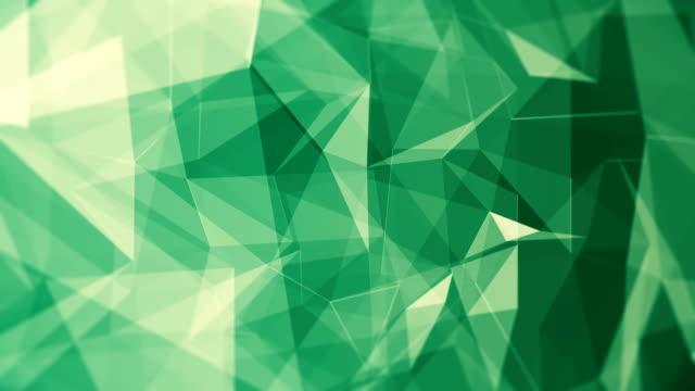 vídeos de stock, filmes e b-roll de fundo abstrato (circulares) - triângulo formato bidimensional