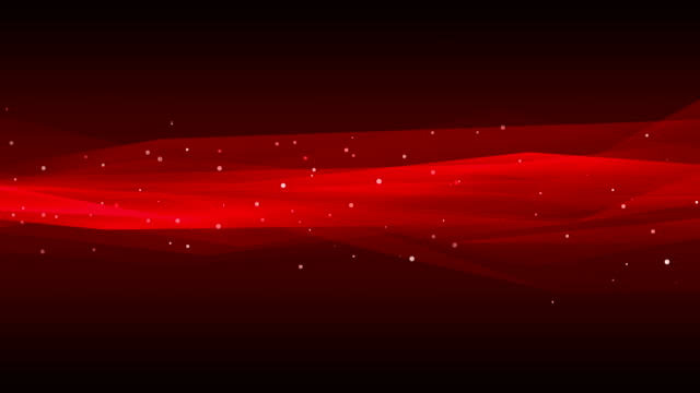 vídeos de stock e filmes b-roll de abstract background with animation of moving wave. soft loopable waves in slow motion. loopable - vermelho