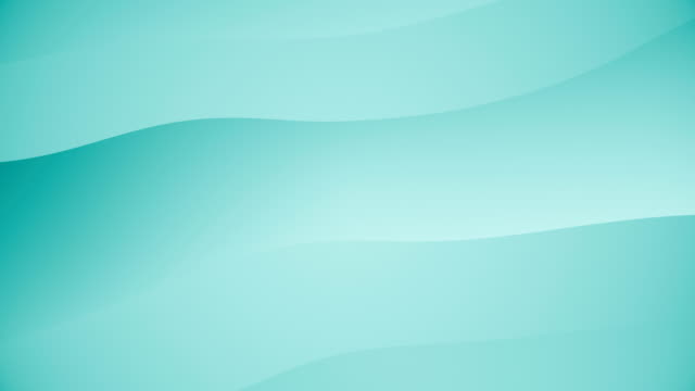 abstract background with animation waving of soft motion (loopable) - turquoise coloured stock videos & royalty-free footage