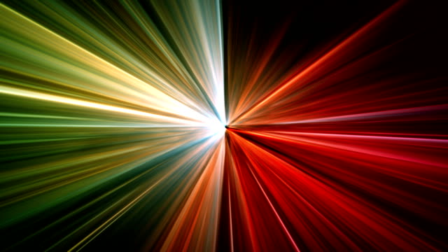 Abstract background with lasers animation