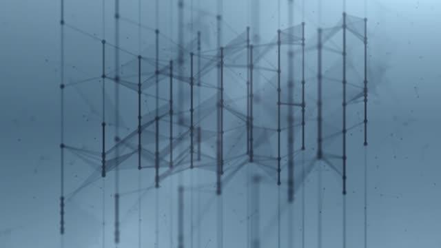 vídeos de stock, filmes e b-roll de fundo abstrato com elementos gráficos em movimento com design de polígono - simplicidade