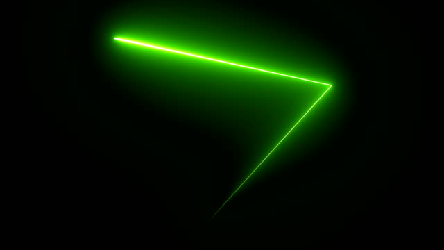 abstract background with neon triangles.  loopable 4k - laser stock videos & royalty-free footage
