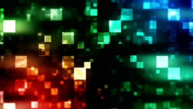vídeos y material grabado en eventos de stock de fondo abstracto con plazas bucle - cuadrado composición