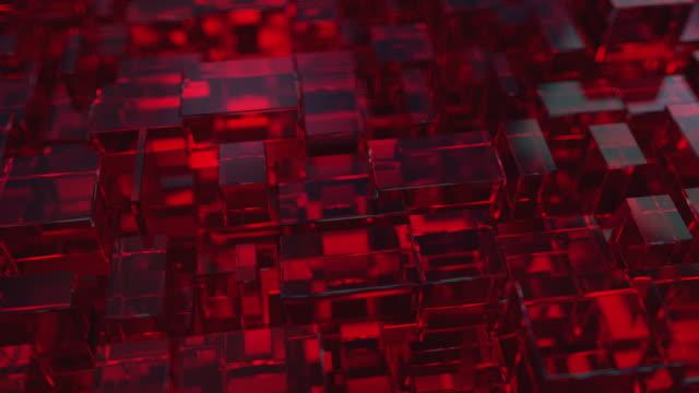 vídeos y material grabado en eventos de stock de fondo abstracto con plazas - baldosa