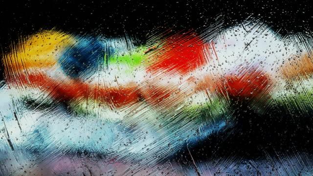 Abstrakt Hintergrund mit Wasser Tropfen