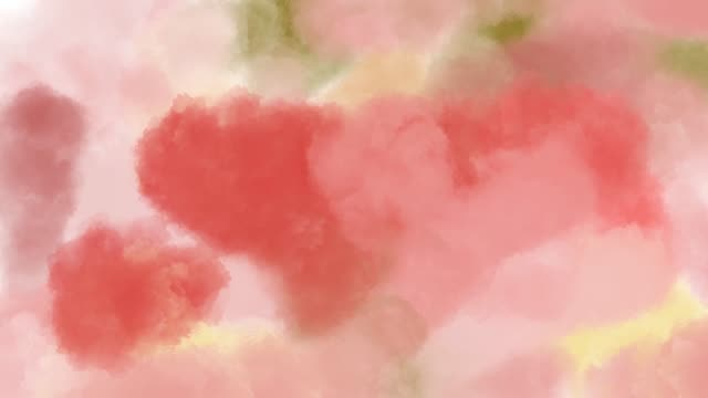 abstract backgrounds , watercolor painting surrealistic in heart shape - watercolour painting stock videos & royalty-free footage