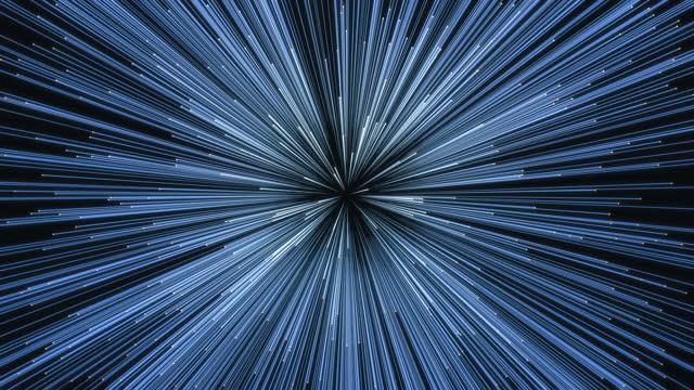 vidéos et rushes de abstract big data line - motion design