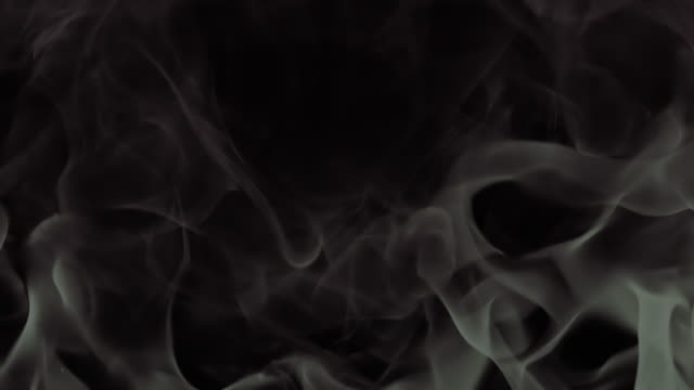 hd slow-motion: abstract black and white flames - digital enhancement stock videos & royalty-free footage