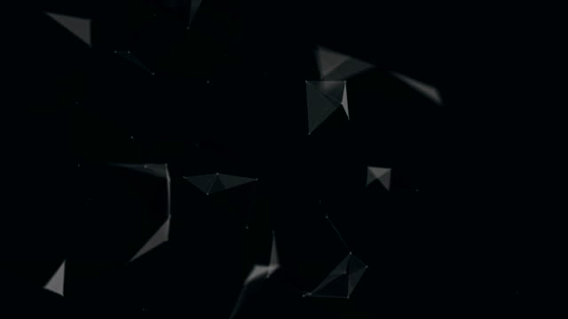 Abstract Black Background | Loopable - 4K