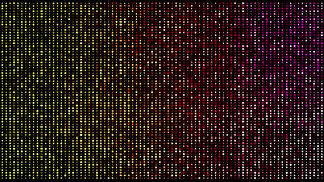 Abstract blinking lights loop