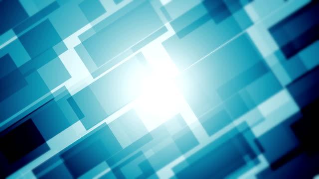 vídeos y material grabado en eventos de stock de fondo abstracto de bloques (loopable) - geometría