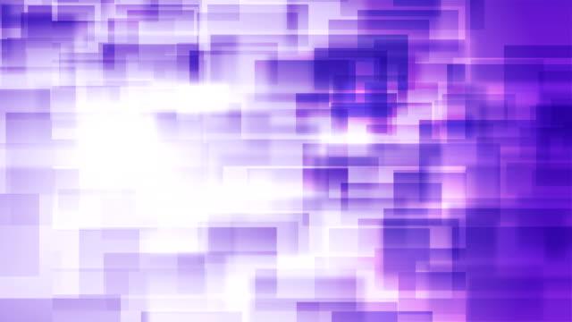 vídeos y material grabado en eventos de stock de fondo abstracto de bloques (loopable) - fondo púrpura