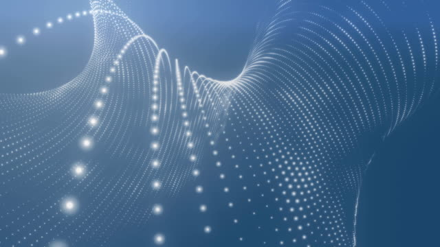 Abstract Blue Background Loopable