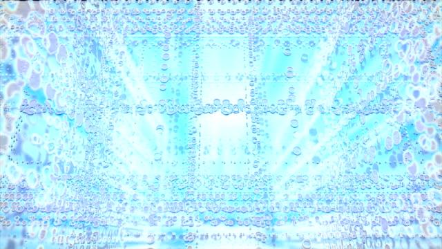 abstrakt blau hintergrund - parallele geometrie stock-videos und b-roll-filmmaterial