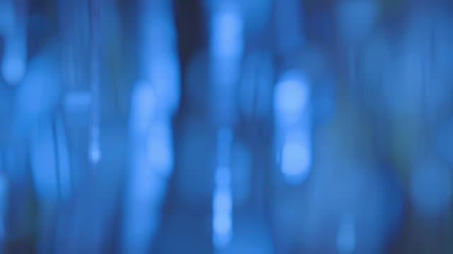 astratto sfondo blu - elemento del design video stock e b–roll
