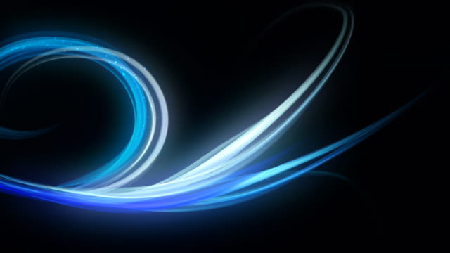 abstract blue lines - swirl pattern stock videos & royalty-free footage