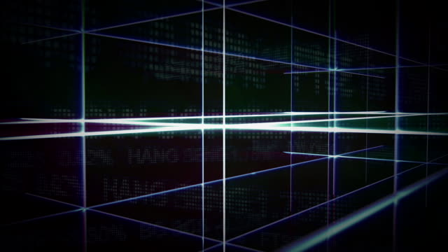 cgi, abstract blue  lines - crisscross stock videos & royalty-free footage
