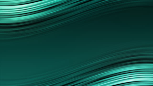 abstract blue smooth elegant waves video animation stock video - plain stock videos & royalty-free footage