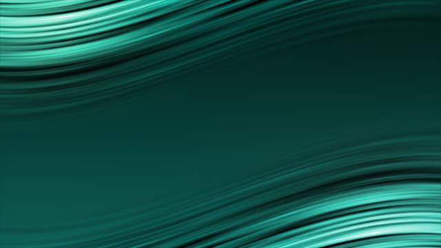 stockvideo's en b-roll-footage met abstract blauw glad elegante golven video animatie stockvideo - eenvoud