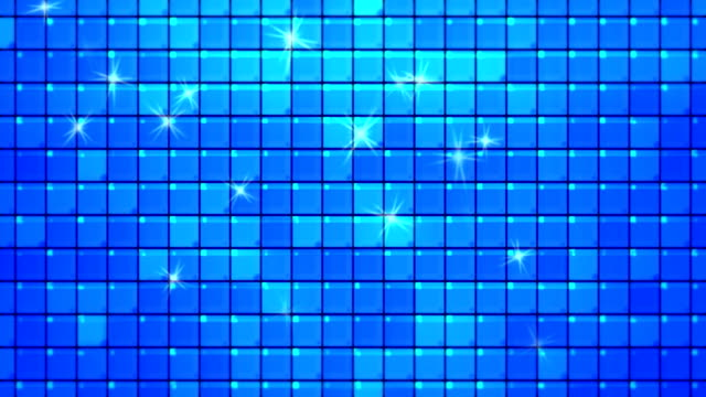 abstract blue square tiles loopable background - flooring stock videos & royalty-free footage