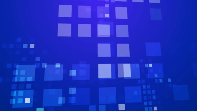 Abstract Blue Squares background