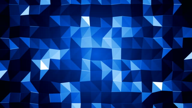 Abstract Blue Triangles (Loopable)