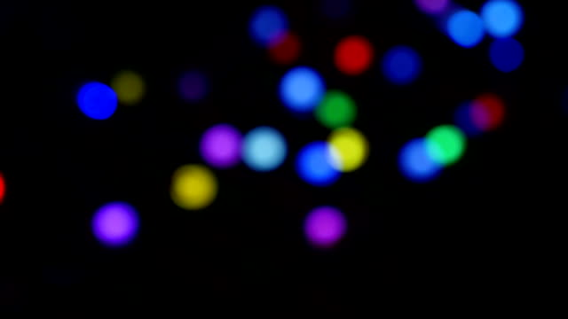 abstract blur lighting effect bokeh background - flicker bird stock videos and b-roll footage