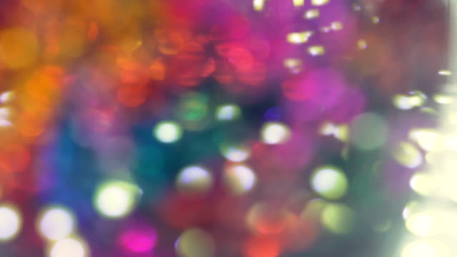Abstract Blurred Colorful Light Background - Loopable