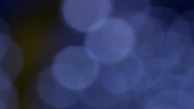 抽象的なぼやけた光背景 - 単発 - クリスタル点の映像素材/bロール