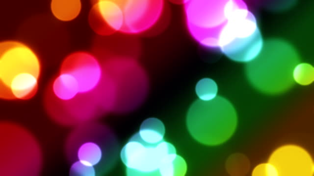 Abstract bokeh loopable background