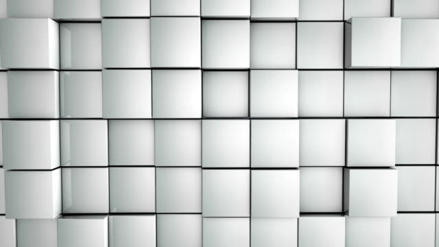 abstract boxes background - square stock videos & royalty-free footage
