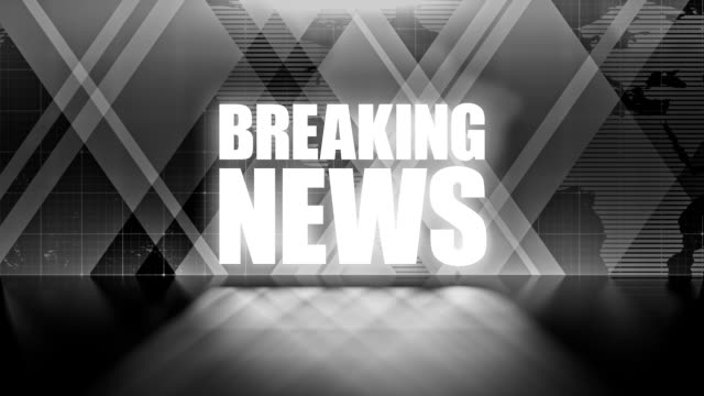 abstract breaking news background - press room stock videos and b-roll footage