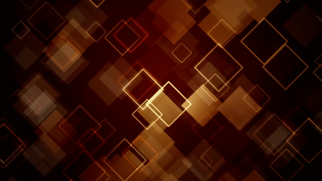 abstract brown squares background - (loopable) - brown background stock videos & royalty-free footage