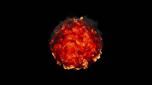 abstract burning fireball - fireball stock videos & royalty-free footage