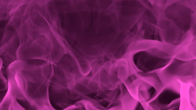 HD SLOW-MOTION: Abstract Burning Flame