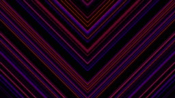 Abstract Chevron Line Pattern Background Loop with Matte