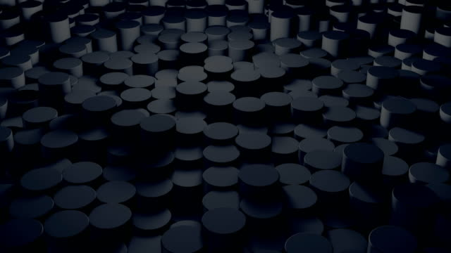 abstract circle background (loopable) - led stock videos & royalty-free footage