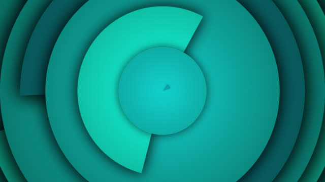 abstract circle rings background - loopable - concentric stock videos & royalty-free footage