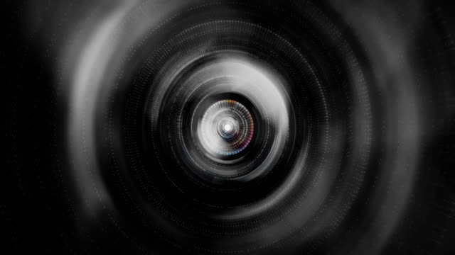 vídeos de stock, filmes e b-roll de abstrato circular backgrounds - joining the dots