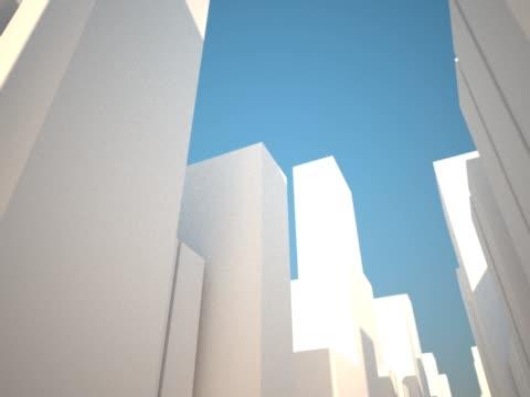 astratto città - meno di 10 secondi video stock e b–roll