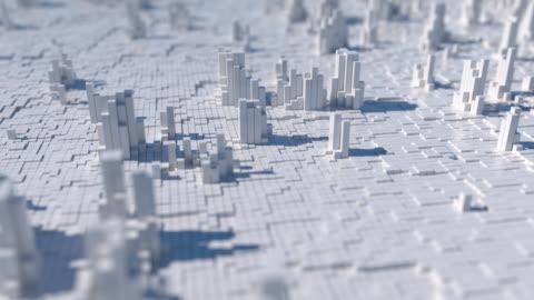 vídeos y material grabado en eventos de stock de ciudad abstracta - asociación