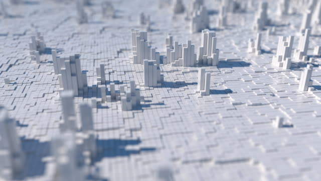 abstract city - cloud computing stock videos & royalty-free footage